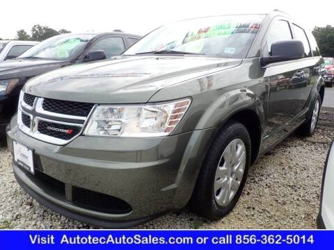 2017 Dodge Journey for sale at Autotec Auto Sales in Vineland NJ