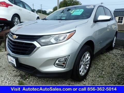 2020 Chevrolet Equinox for sale at Autotec Auto Sales in Vineland NJ