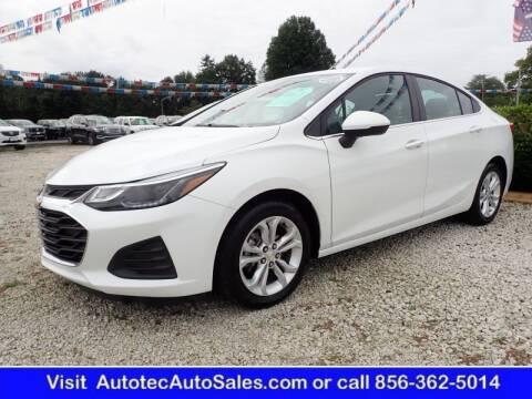 2019 Chevrolet Cruze for sale at Autotec Auto Sales in Vineland NJ