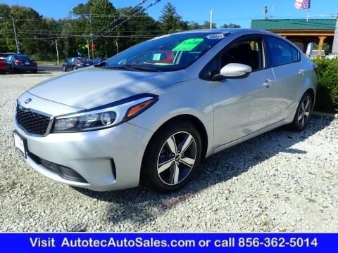 2018 Kia Forte for sale at Autotec Auto Sales in Vineland NJ