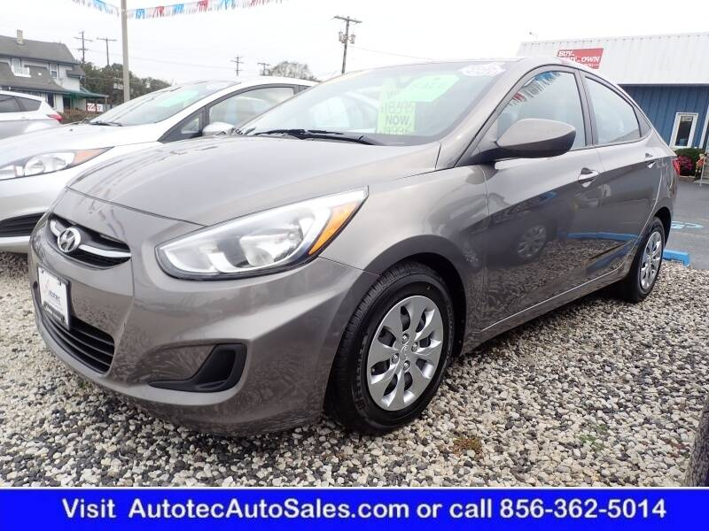 2017 Hyundai Accent for sale at Autotec Auto Sales in Vineland NJ