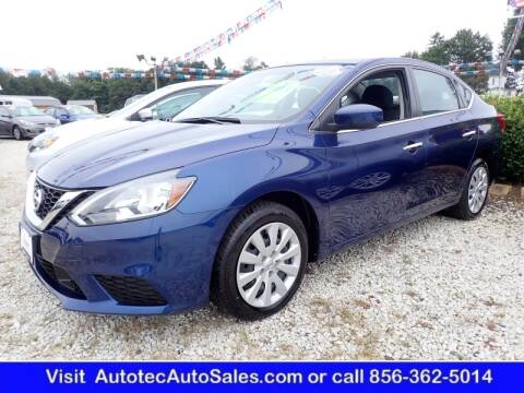 2018 Nissan Sentra for sale at Autotec Auto Sales in Vineland NJ