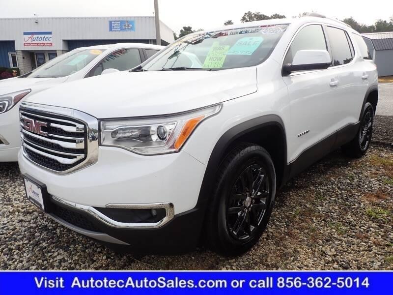 2019 GMC Acadia for sale at Autotec Auto Sales in Vineland NJ