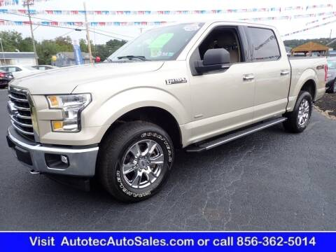 2017 Ford F-150 for sale at Autotec Auto Sales in Vineland NJ