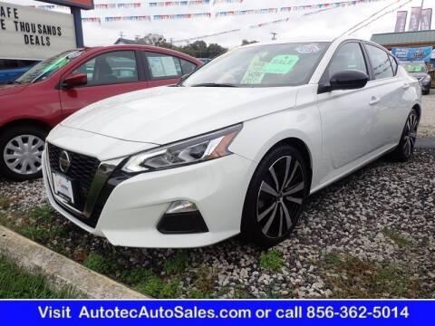 2019 Nissan Altima for sale at Autotec Auto Sales in Vineland NJ