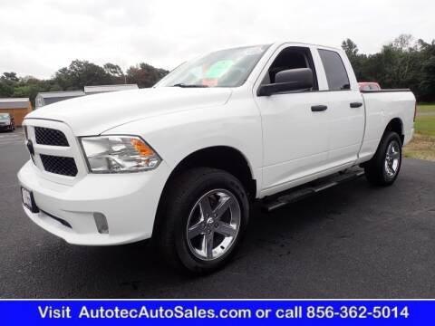 2016 RAM Ram Pickup 1500 for sale at Autotec Auto Sales in Vineland NJ
