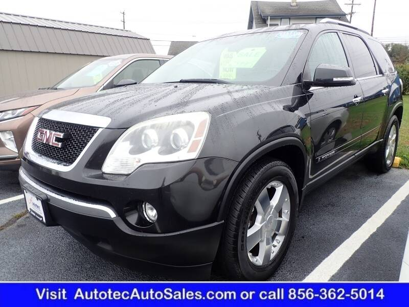 2008 GMC Acadia for sale at Autotec Auto Sales in Vineland NJ
