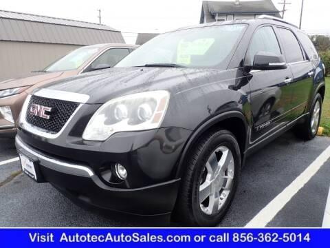 2008 GMC Acadia for sale at Autotec Auto Sales in Vineland NJ