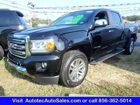 2015 GMC Canyon for sale at Autotec Auto Sales in Vineland NJ
