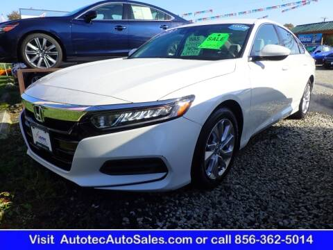 2019 Honda Accord for sale at Autotec Auto Sales in Vineland NJ