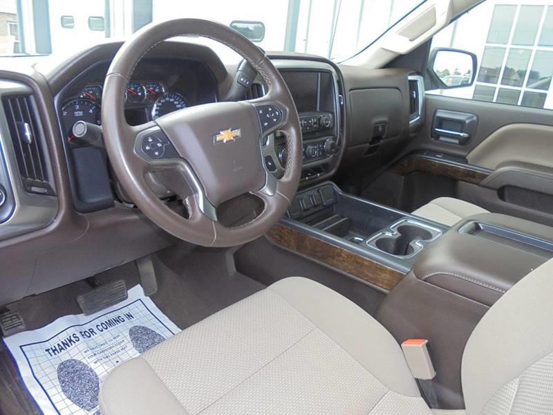 2015 Chevrolet Silverado 1500 4x4 LT 4dr Crew Cab 5.8 ft. SB - Hartford WI