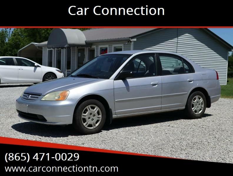 car connections jefferson city tn  2002 Honda Civic LX 4dr Sedan In Jefferson City TN - Car Connection
