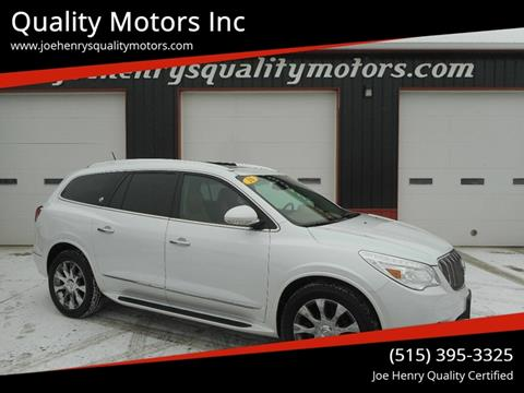 2016 Buick Enclave for sale in Algona, IA
