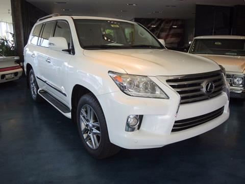 2013 Lexus LX 570 for sale at OC Autosource in Costa Mesa CA