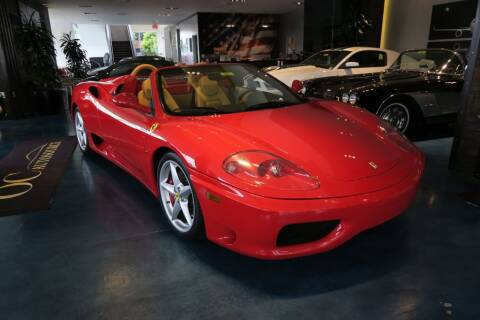 2005 Ferrari 360 Spider for sale at OC Autosource in Costa Mesa CA