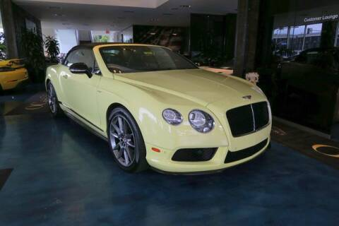 2015 Bentley Continental for sale at OC Autosource in Costa Mesa CA