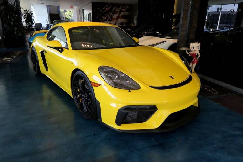 2020 Porsche 718 Cayman for sale at OC Autosource in Costa Mesa CA