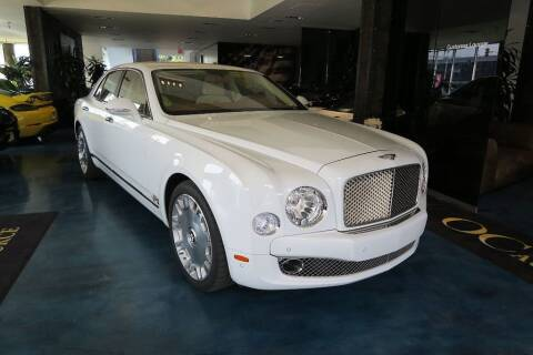 2011 Bentley Mulsanne for sale at OC Autosource in Costa Mesa CA