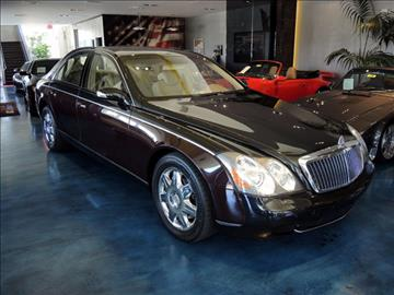 2004 Maybach 57 for sale in Costa Mesa, CA