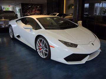 2015 Lamborghini Huracan for sale in Costa Mesa, CA