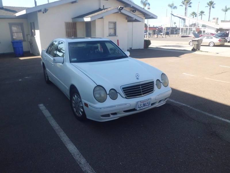 2001 Mercedes Benz E Class E 320 4dr Sedan   Escondido CA