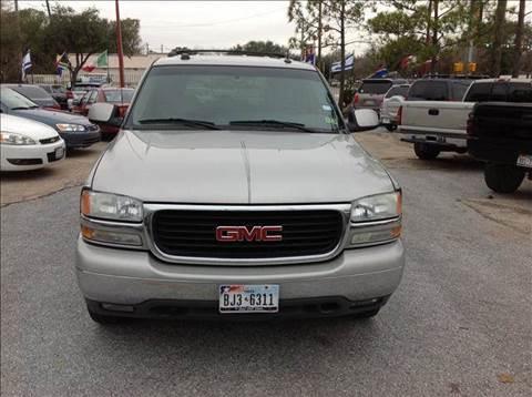 2004 GMC Yukon for sale at Talisman Motor Company in Houston TX
