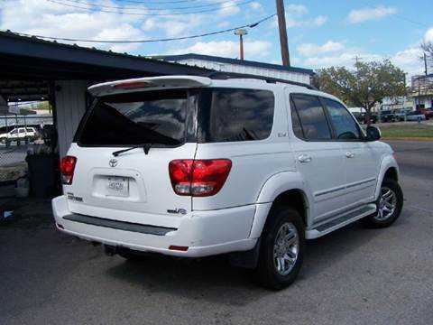 2005 Toyota Sequoia for sale at Talisman Motor Company in Houston TX