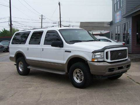 2004 Ford Excursion for sale at Talisman Motor Company in Houston TX