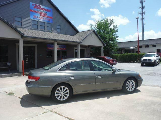2006 Hyundai Azera Limited   Houston TX