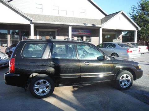 2005 Subaru Forester for sale at Talisman Motor Company in Houston TX