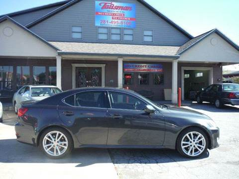 2006 Lexus IS 250 for sale at Talisman Motor Company in Houston TX