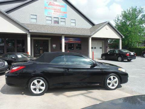 2008 Toyota Camry Solara for sale at Talisman Motor Company in Houston TX