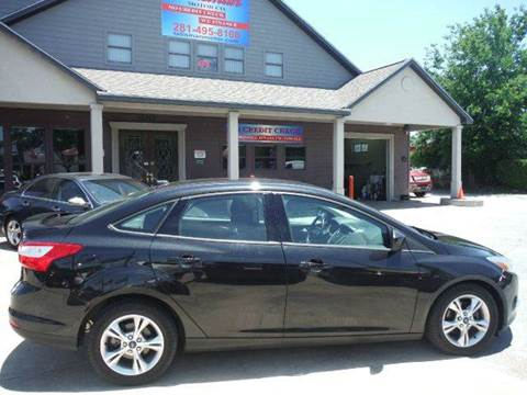 2012 Ford Focus for sale at Talisman Motor Company in Houston TX