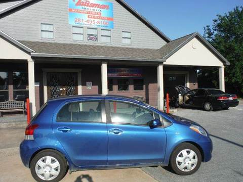 2009 Toyota Yaris for sale at Talisman Motor Company in Houston TX