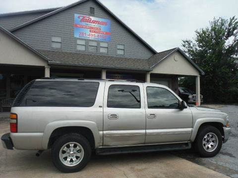 2004 Chevrolet Suburban for sale at Talisman Motor Company in Houston TX