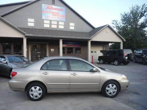 2005 Toyota Corolla for sale at Talisman Motor Company in Houston TX