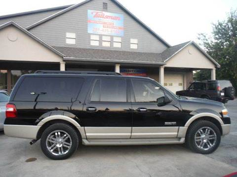 2008 Ford Expedition EL for sale at Talisman Motor Company in Houston TX
