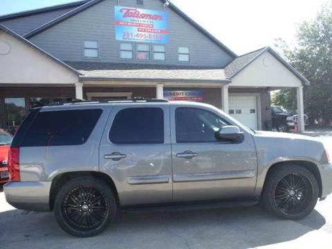 2007 GMC Yukon for sale at Talisman Motor Company in Houston TX