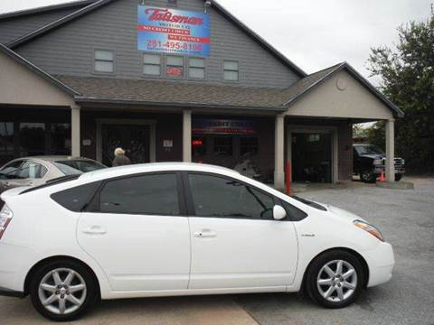 2008 Toyota Prius for sale at Talisman Motor Company in Houston TX