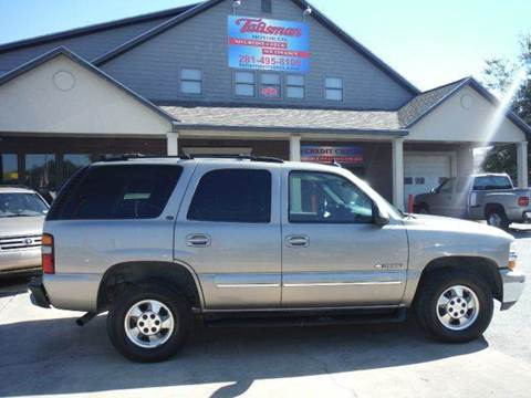 2003 Chevrolet Tahoe for sale at Talisman Motor Company in Houston TX