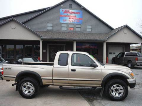 2002 Toyota Tacoma for sale at Talisman Motor Company in Houston TX