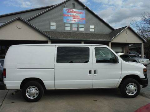 2011 Ford E-Series Cargo for sale at Talisman Motor Company in Houston TX