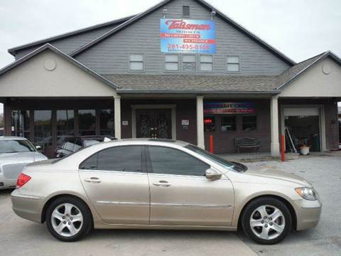 2006 Acura RL for sale at Talisman Motor Company in Houston TX