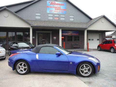 2004 Nissan 350Z for sale at Talisman Motor Company in Houston TX