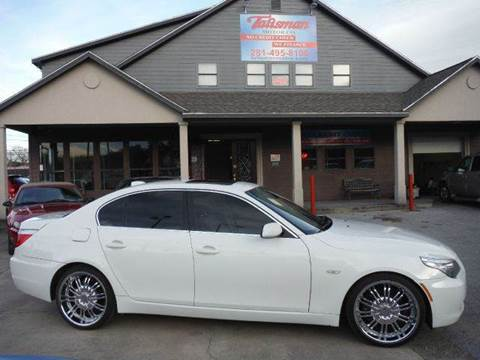 2008 BMW 5 Series for sale at Talisman Motor Company in Houston TX
