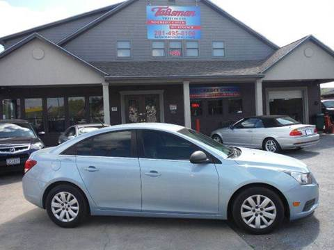 2011 Chevrolet Cruze for sale at Talisman Motor Company in Houston TX