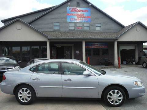 2005 Buick LaCrosse for sale at Talisman Motor Company in Houston TX