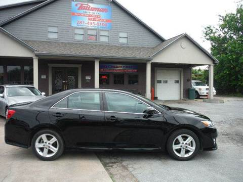 2013 Toyota Camry for sale at Talisman Motor Company in Houston TX
