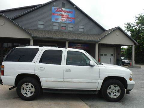 2005 Chevrolet Tahoe for sale at Talisman Motor Company in Houston TX
