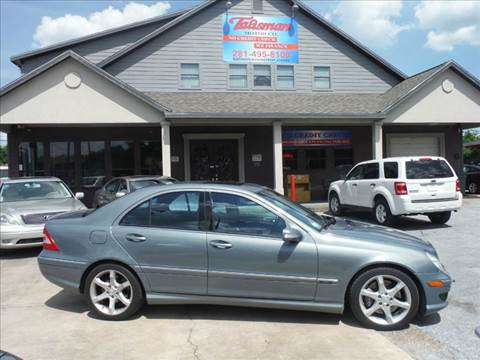 2007 Mercedes-Benz C-Class for sale at Talisman Motor Company in Houston TX